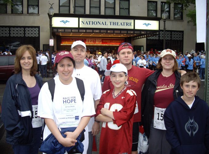 Stacy Mizrahi Race for Hope