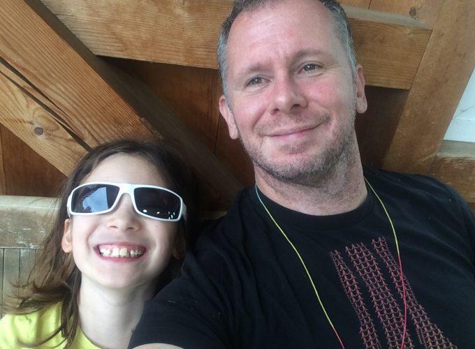 Stacy Mizrahi and Daughter